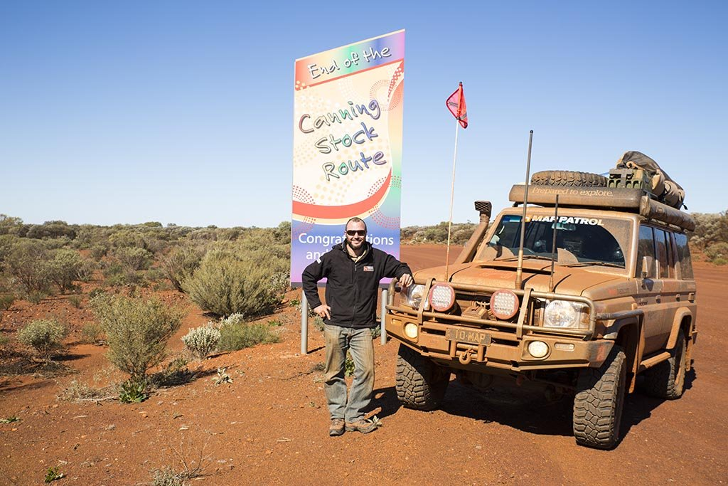 Completion of the Canning Stock Route