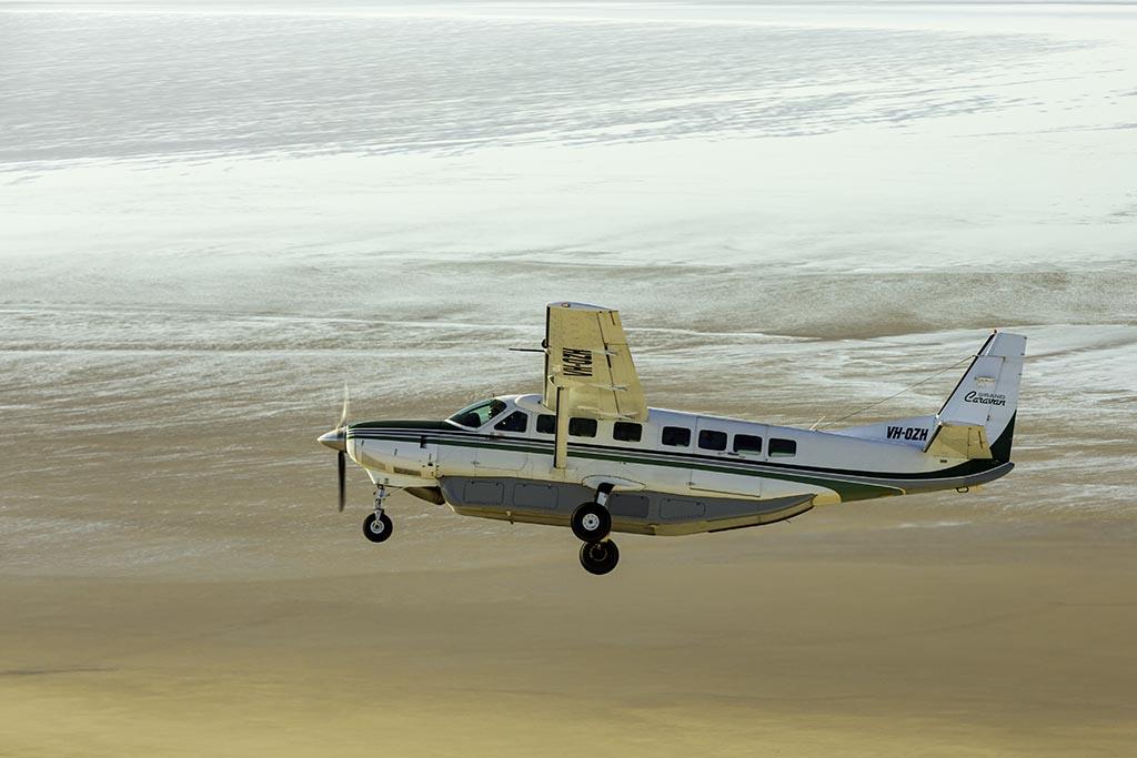 Scenic Flight flying over Lake Eyre