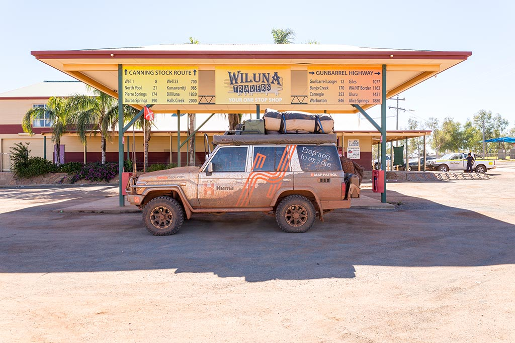 Fuelling up in Wiluna