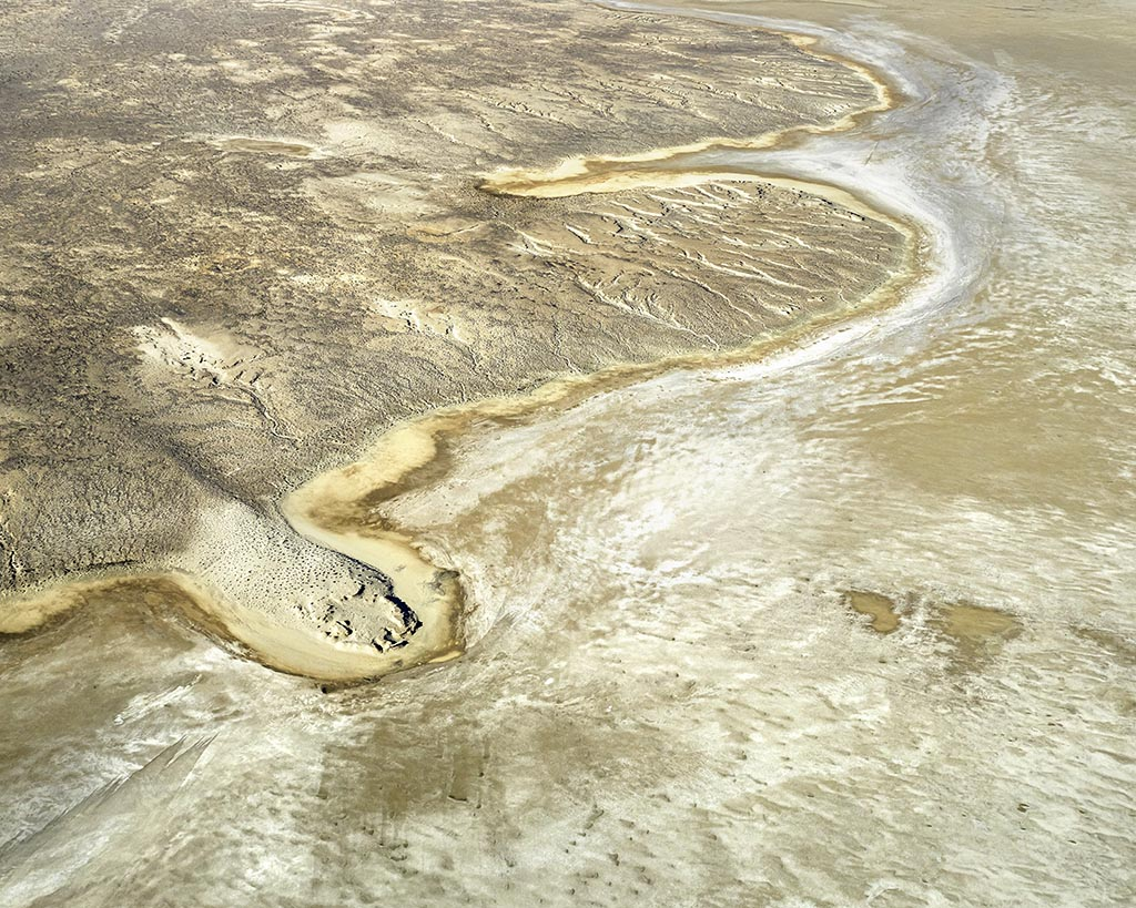 Lake Eyre Aerial abstracts from above