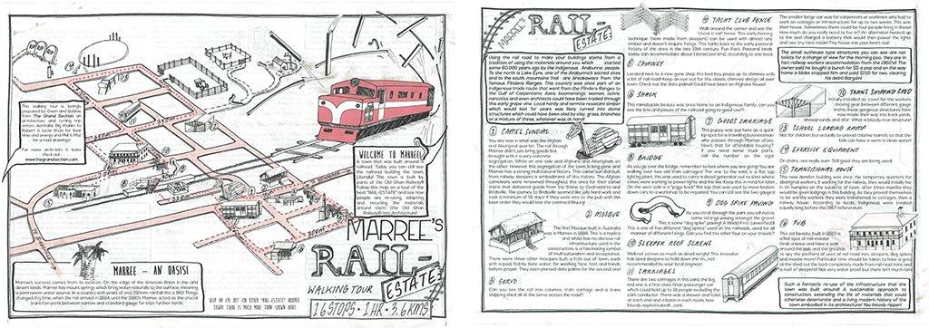 Marree Self Guided Heritage Walk Brochure
