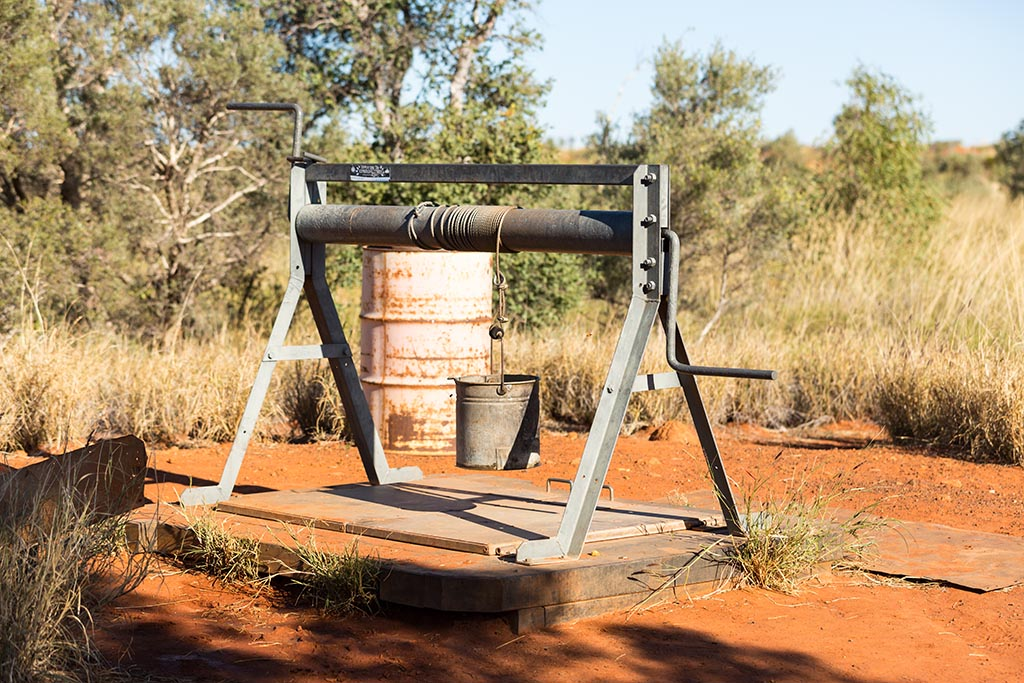 Restored Well 49 on the Canning Stock Route