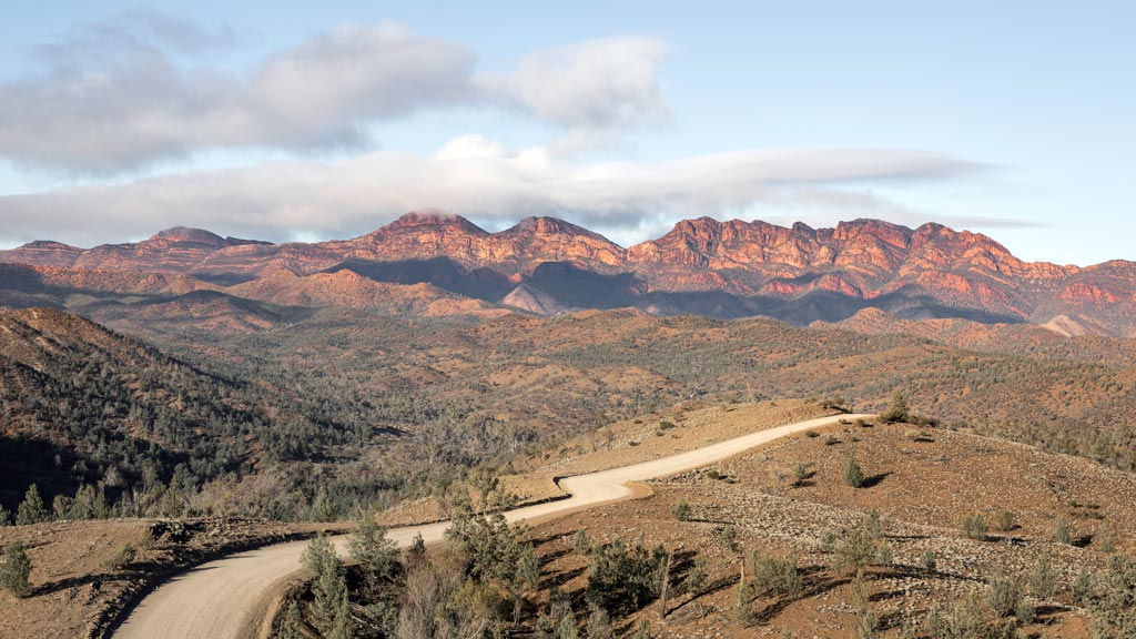 View of the Flinders Ranges