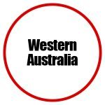 Western Australia Button - Drives Destinations