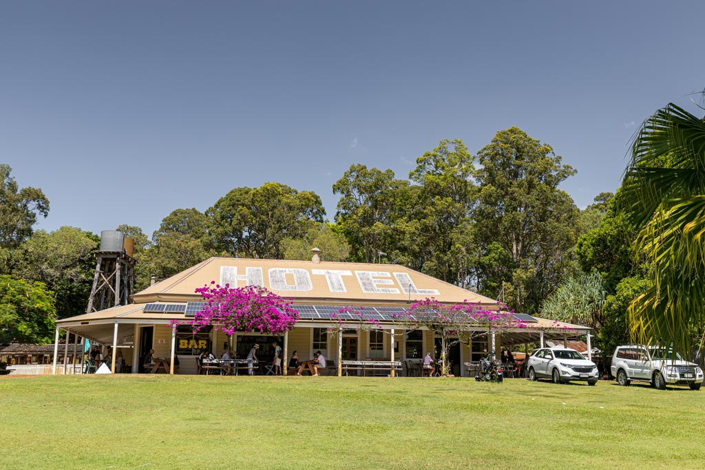 The Apollonian Hotel at Boreen Point - Sunshine Coast Hinterland Towns