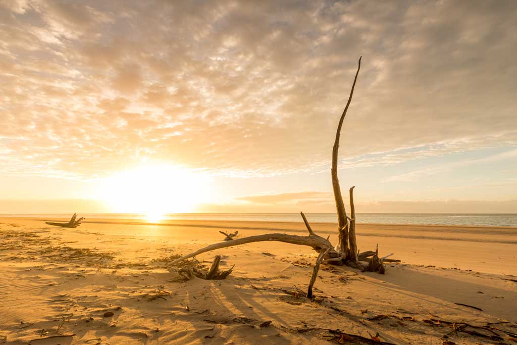 Sunrise at Burrum Point