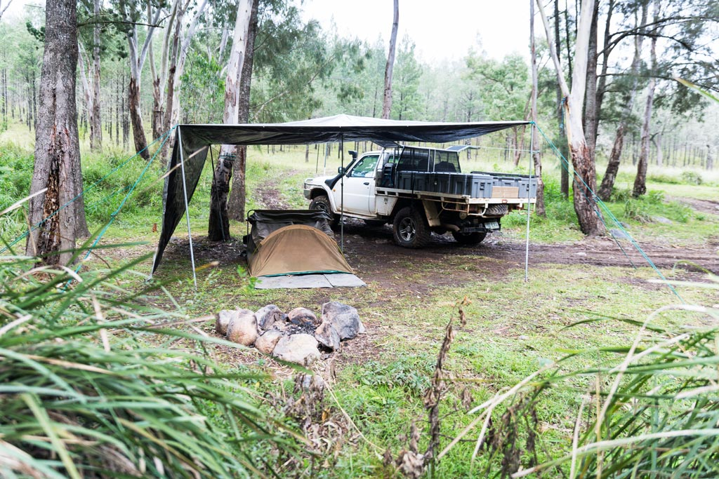 Sundown National Park - Burrows Waterhole Campsite