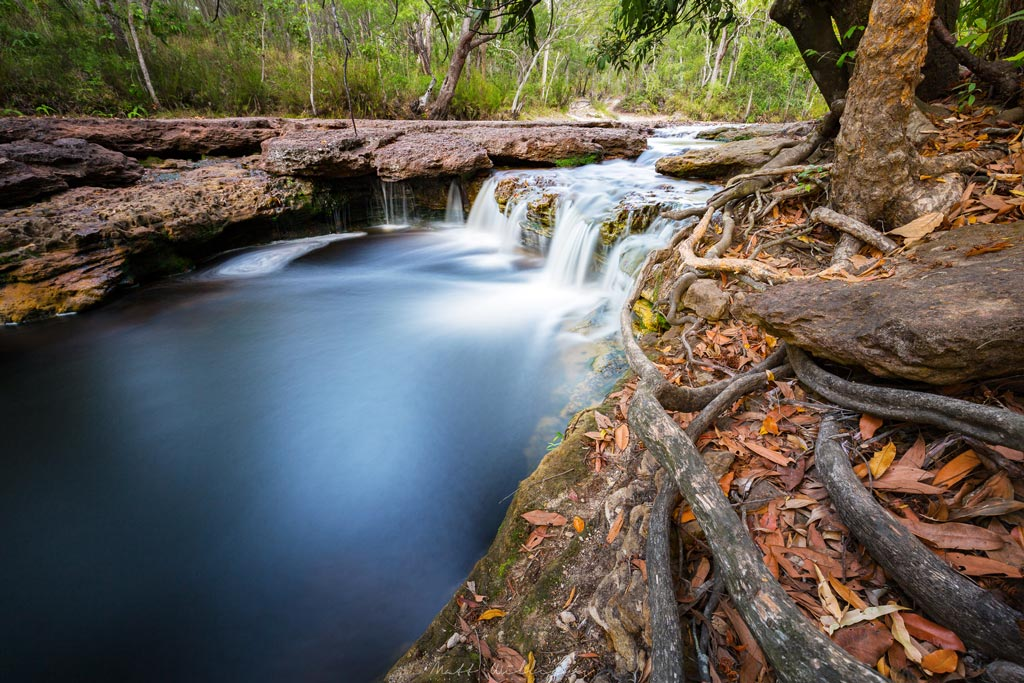 Waterfall on the Dulhunty River, Cape York - drives destinations
