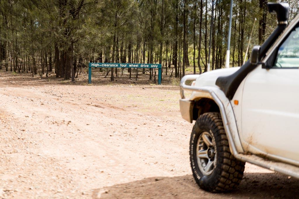 Sundown National Park - High Clearance 4WD Only