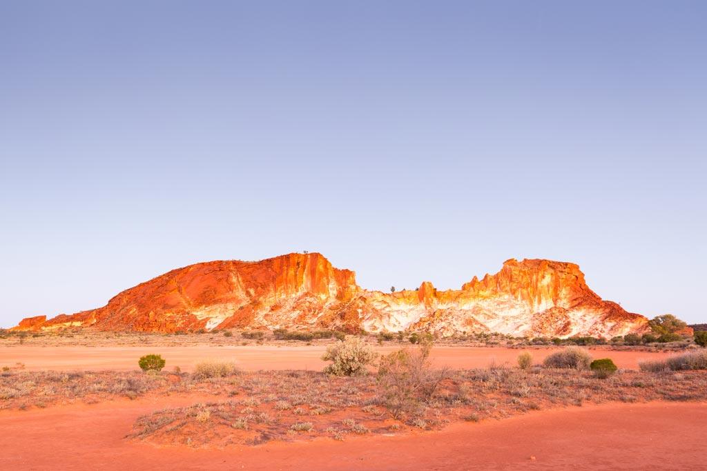 Rainbow Valley at sunset