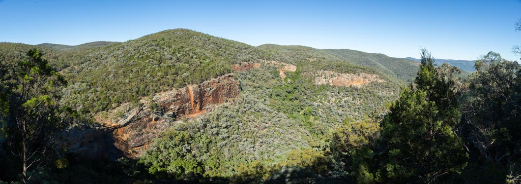 Panorama of Red Rock Gorge from the Lookout