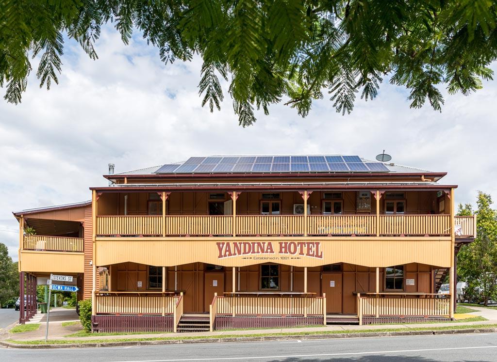 Yandina Hotel Sunshine Coast Hinterland towns