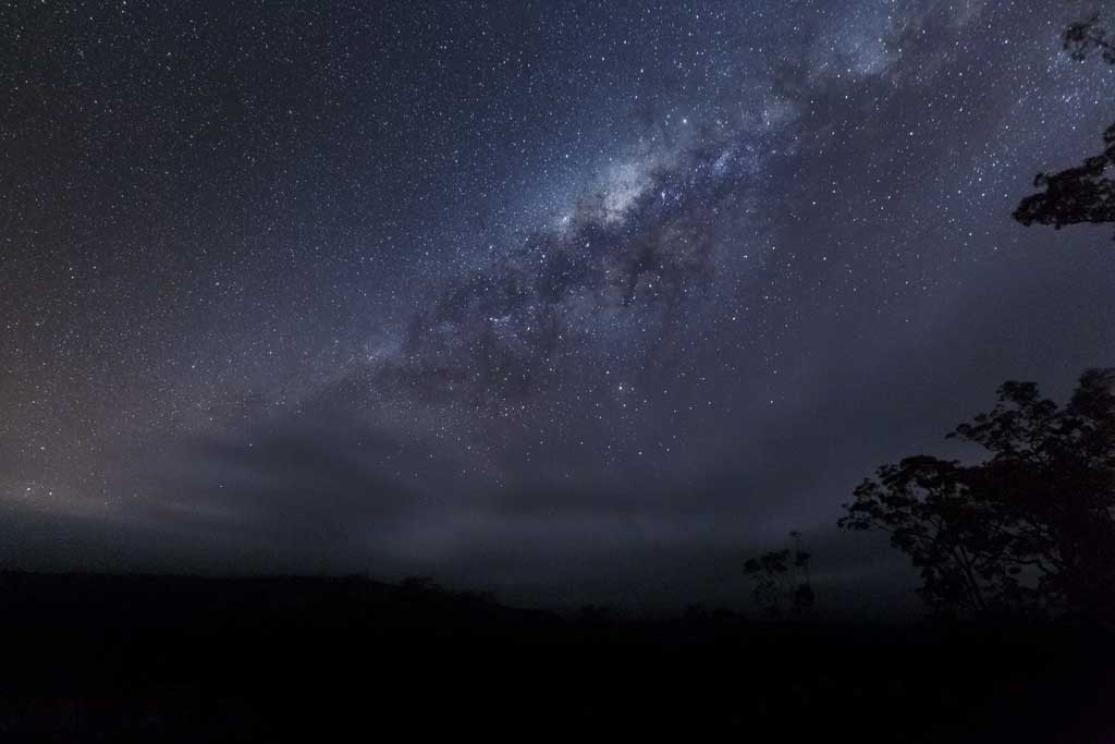 Milky Way above Carnarvon Gorge