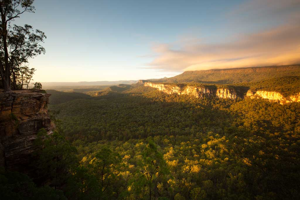 Post-sunrise at Boolimba Bluff