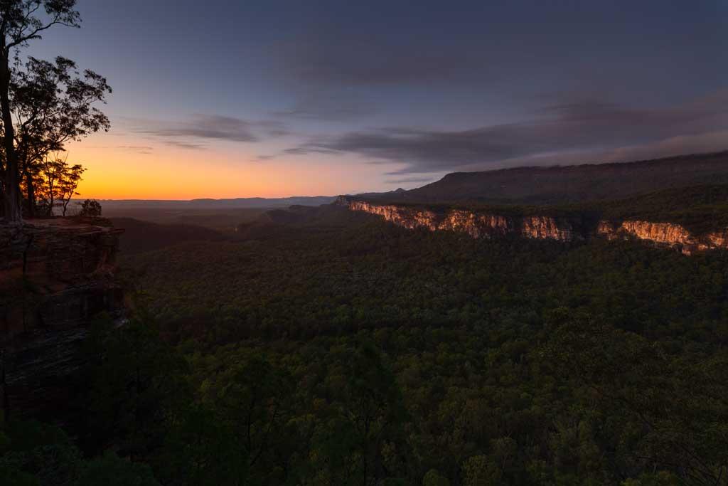 Pre-dawn at Boolimba Bluff