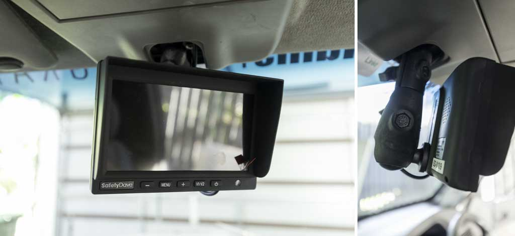 monitor and mounting bracket