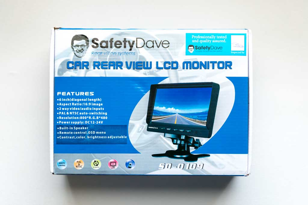 Safety Dave Rear Vision System