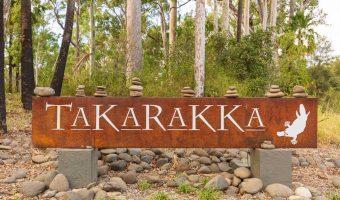 Entry to Takarakka Bush Resort