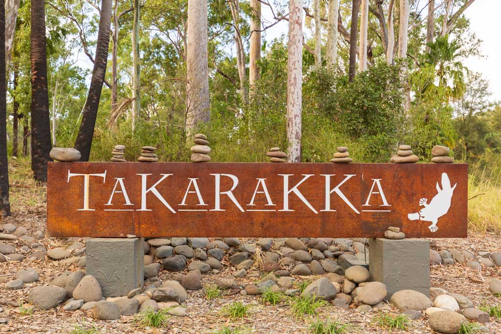 Entry to Takarakka Bush Resort - Carnarvon Gorge Camping