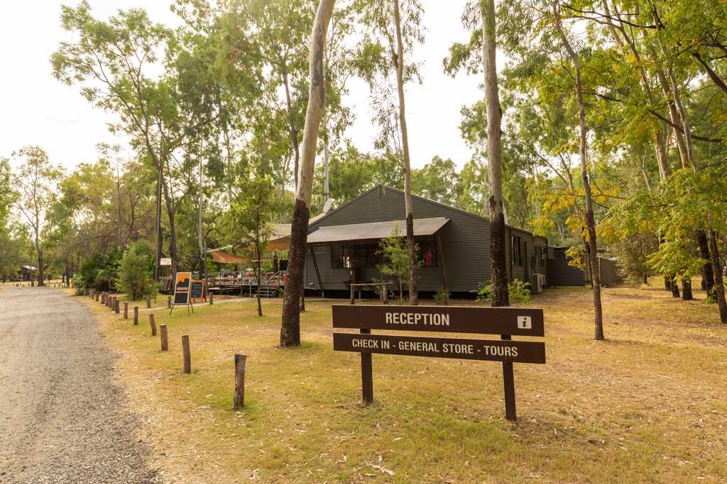 Reception for Takarakka Bush Resort