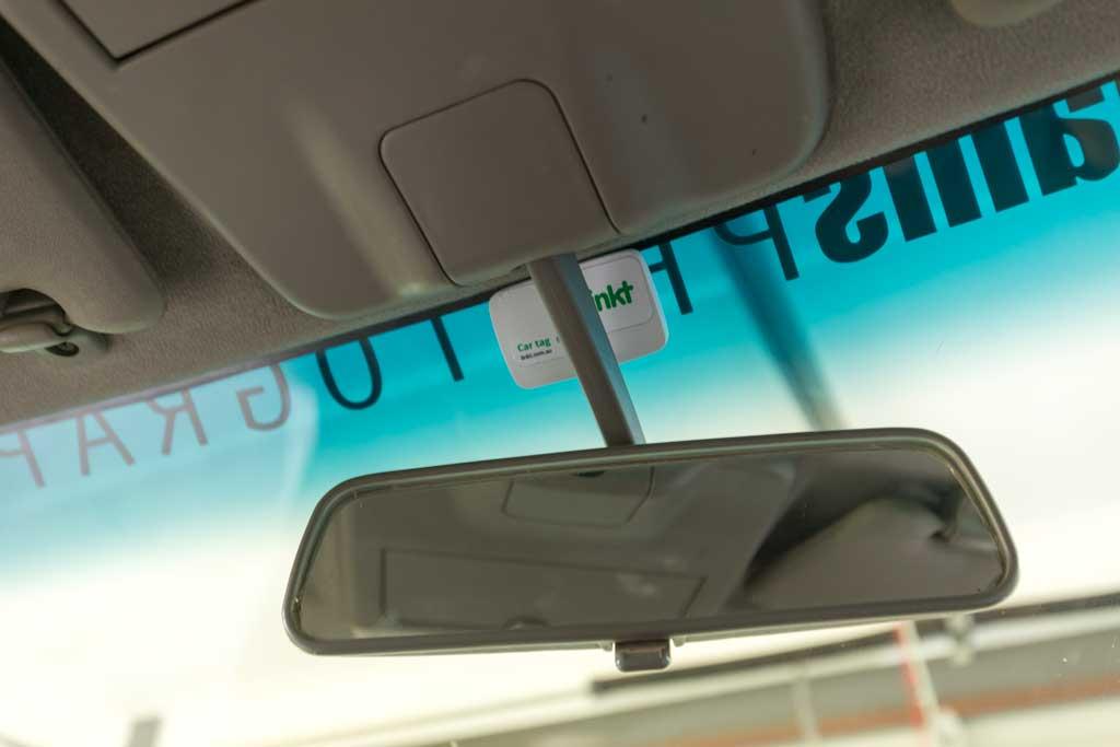 original rear view mirror