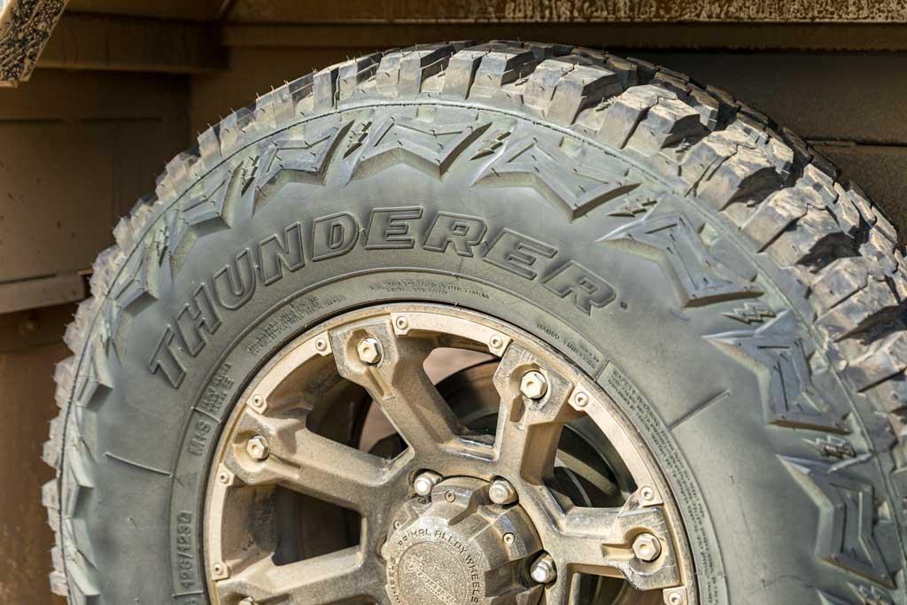 aggressive mud terrain tyre - Marvel Thunderstorm